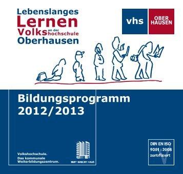 B - VHS Oberhausen - Stadt Oberhausen