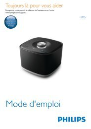 Philips izzy Enceinte Multiroom sans fil izzy - Mode d'emploi - FRA