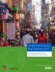 Small Merchants Big Opportunity