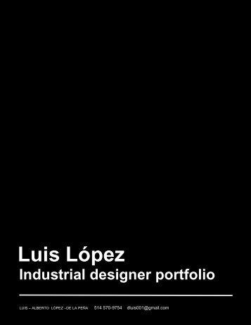 Luis Lopez ID Portfolio