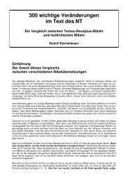 300 wichtigste Veränderungen im Text des NT