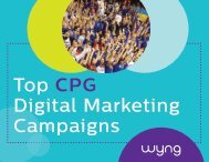 Top CPG Digital Marketing Campaigns