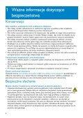 Philips Baladeur audio à mémoire flash - Mode d'emploi - POL - Page 4