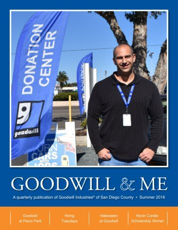 Goodwill And Me 2016 Q3 Newsletter