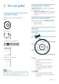 Philips GoGEAR Baladeur MP3 - Mode d'emploi - NOR - Page 7