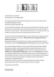 1.Orientierungsstufe - Albert-Schweitzer-Gymnasium Kaiserslautern