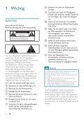 Philips Fidelio Enceintes Hi-Fi sans fil A9 - Mode d'emploi - DEU - Page 4