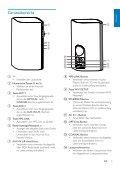 Philips Fidelio Enceintes Hi-Fi sans fil A9 - Mode d'emploi - DEU - Page 7