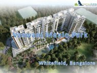Prelaunch Apartments at Whitefield