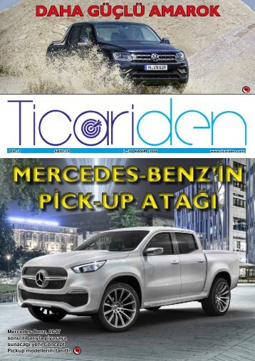 MERCEDES-BENZ'İN PİCK-UP ATAĞI