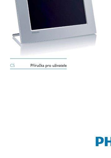 Philips PhotoFrame numérique - Mode d'emploi - CES