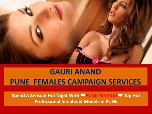Fun and Entertainment with Pune independent Escorts