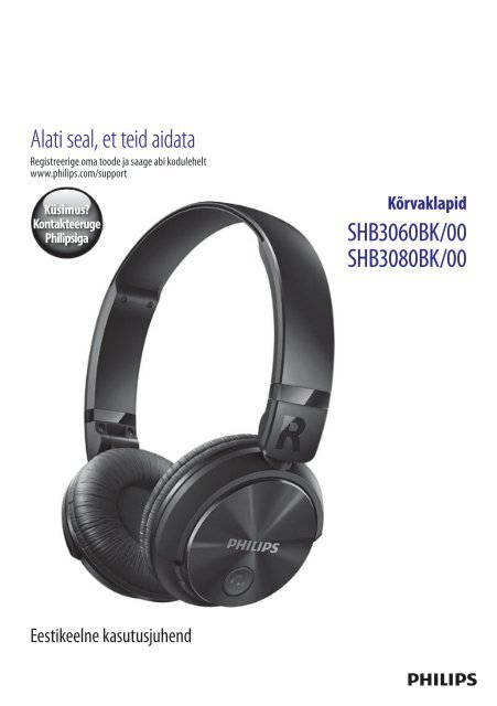 Philips Casque Bluetoothreg Sans Fil Mode Drsquoemploi Est