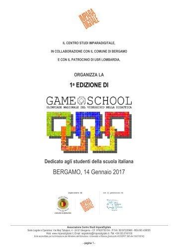 1 EDIZIONE DI BERGAMO 14 Gennaio 2017
