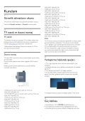 Philips 7000 series Téléviseur LED ultra-plat Smart TV Full HD - Mode d'emploi - TUR - Page 7