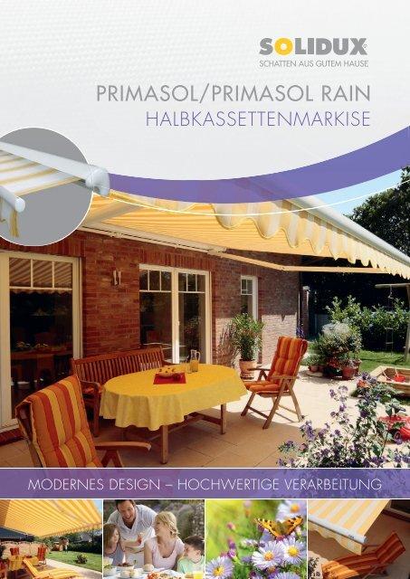 PRIMASOL/PRIMASOL RAIN - Andre Atzert Rolläden und Markisen