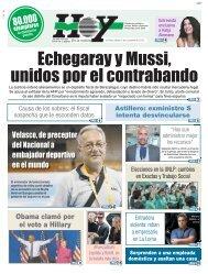 Echegaray y Mussi unidos por el contrabando