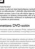 Philips Lecteur de DVD portable - Mode d'emploi - FIN - Page 6