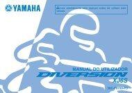 Yamaha XJ6-S - 2013 - Manuale d'Istruzioni Português