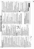 KitchenAid HF1220 B - Freezer - HF1220 B - Freezer EN (850790929010) Scheda programmi - Page 2