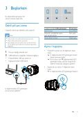 Philips Enceinte portable sans fil - Mode d'emploi - TUR - Page 7