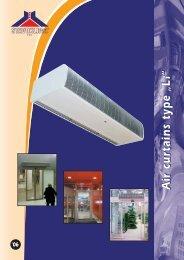 """Air curtains type """"Li"""" - VT Princips"""