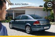 Izbaudiet to, kas slēpjas Astra Sedan. - Opel