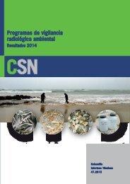 Programas de vigilancia radiológica ambiental