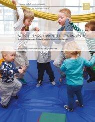 Glädje lek och gemensamma aktiviteter