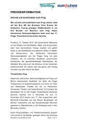 Deutsche Touring_Muenchen-Prag - Komfortabel nach ... - Eurolines