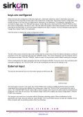 User Manual TOUCH-POINT - sirkom - Page 7