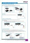 SRK-1080P-D Digital HD Media Player - Sirkom - Page 6