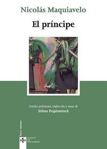 Maquiavelo El príncipe.