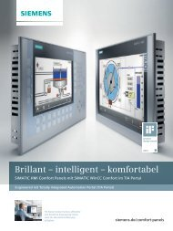 Brillant – intelligent – komfortabel - Siemens