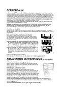 KitchenAid BDP28A+ - Fridge/freezer combination - BDP28A+ - Fridge/freezer combination DE (855035838000) Istruzioni per l'Uso - Page 3