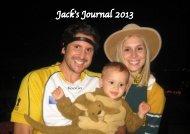 Jack's Journal 2013