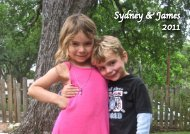 Sydney & James 2011