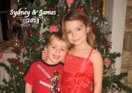 Sydney & James 2013