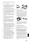 Philips Téléviseur à écran large - Mode d'emploi - FIN - Page 7