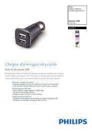 Philips Tablette, téléphone portable, usage universel - Fiche Produit - FRA