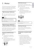 Philips Parasurtenseur pour Home Cinéma - Mode d'emploi - FIN - Page 4