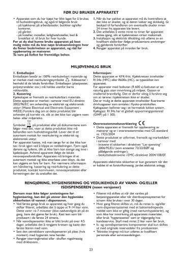 KitchenAid US 20RUL - Side-by-Side - US 20RUL - Side-by-Side NO (858644711000) Istruzioni per l'Uso