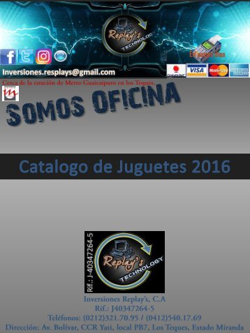 Calatolo%20de%20juguetes%202016%20Inversiones%20Replays