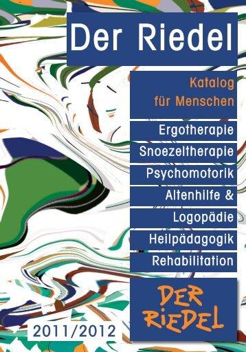 Katalog für Menschen - Riedel GmbH