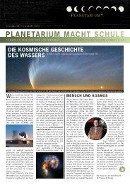 PlanetariuM Macht schule - Planetarium Hamburg