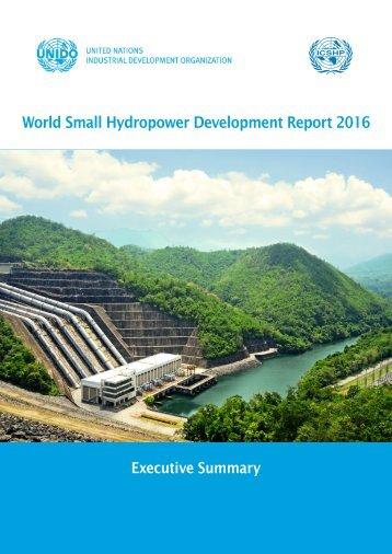 World Small Hydropower Development Report 2016