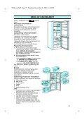 KitchenAid BFF 845 - Fridge/freezer combination - BFF 845 - Fridge/freezer combination DA (853975515000) Istruzioni per l'Uso - Page 4