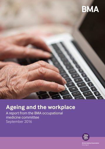 Ageing and the workplace