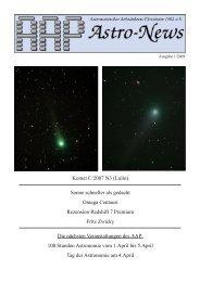 Komet C/2007 N3 (Lulin) - Sternwarte Nordschwarzwald