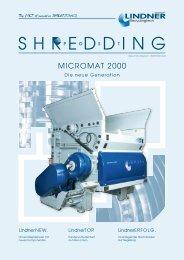 Shredding Post 2010 - Lindner-Recyclingtech GmbH
